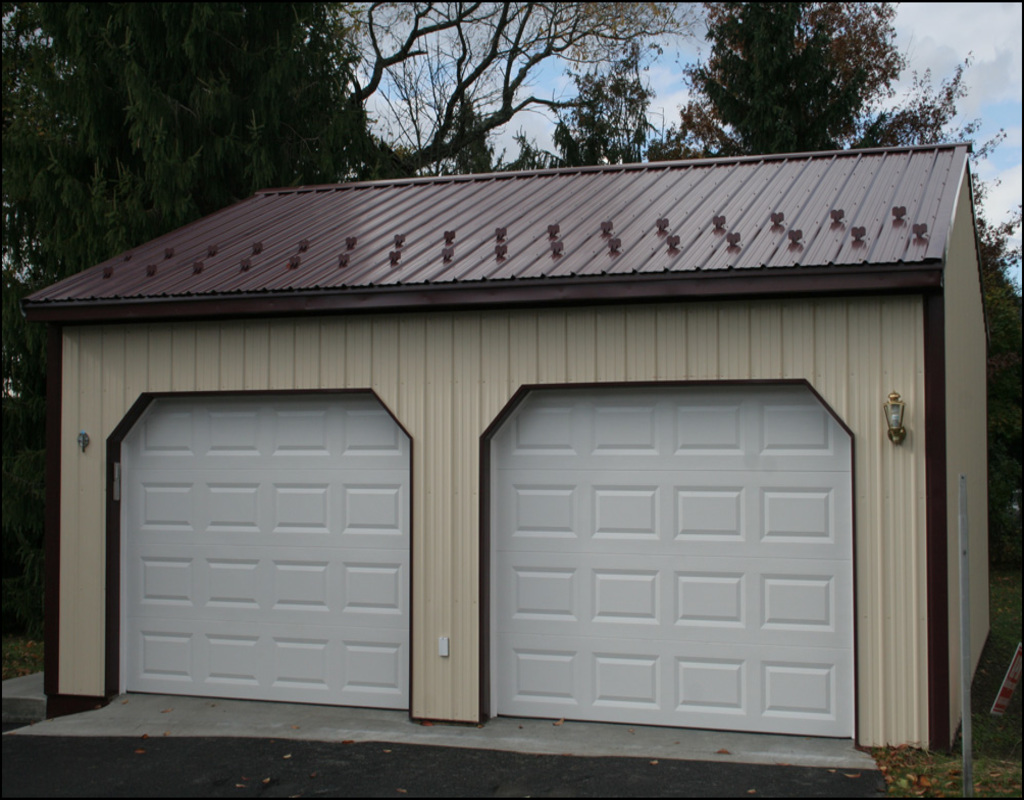 99 2 car garage cost 2 door garage ideas car cost full for Diy garage cost