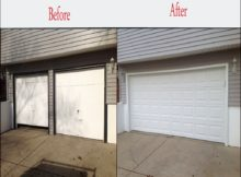 Double Car Garage Door