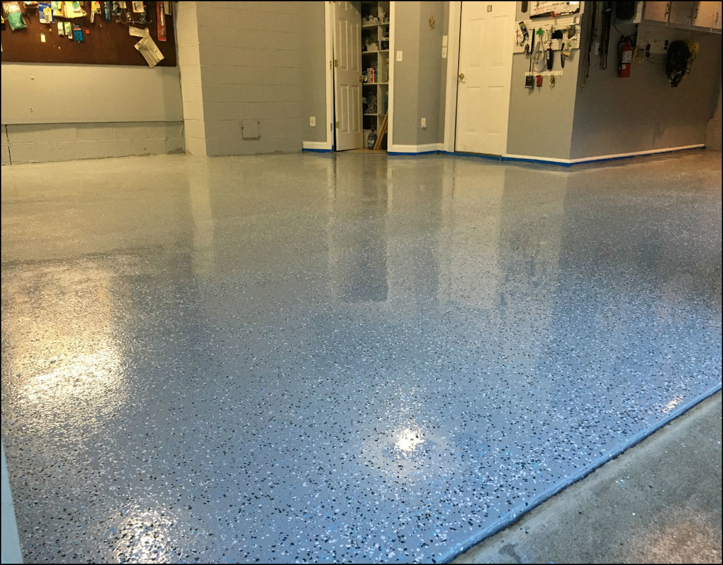 how-to-epoxy-a-garage-floor How To Epoxy A Garage Floor
