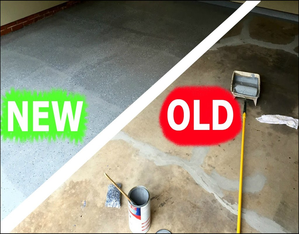 how-to-paint-a-garage-floor How To Paint A Garage Floor