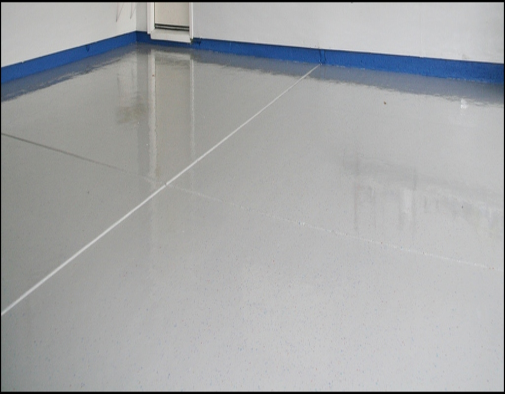 painting-a-garage-floor Using Painting A Garage Floor