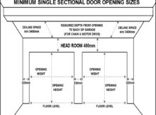 Single Car Garage Door Size
