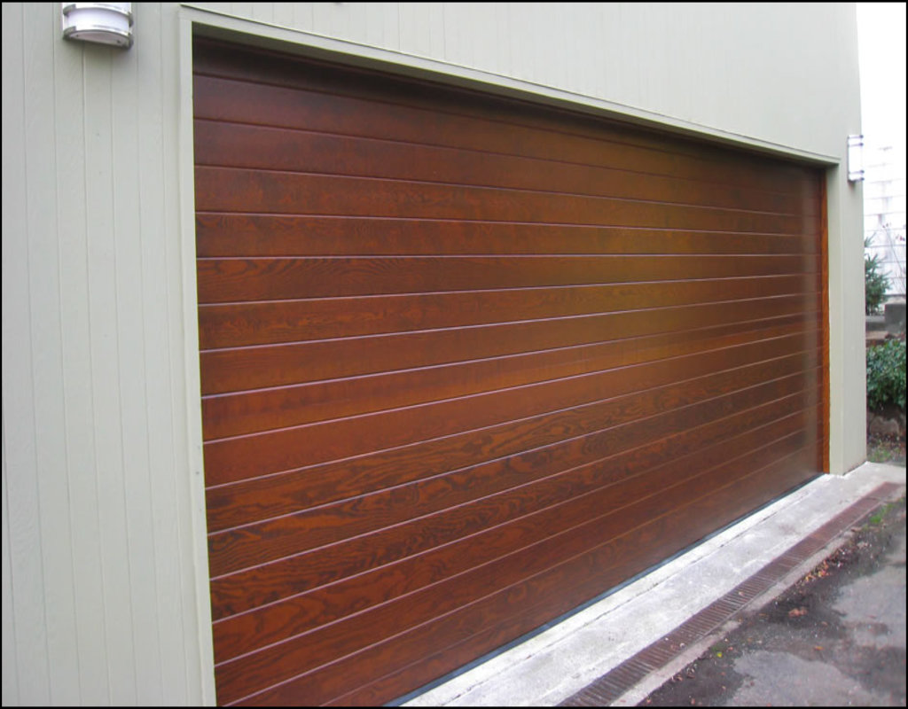 Charming Wood Garage Doors Prices