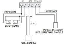 Garage Door Sensor Wire