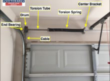 Garage Door Torsion Bar