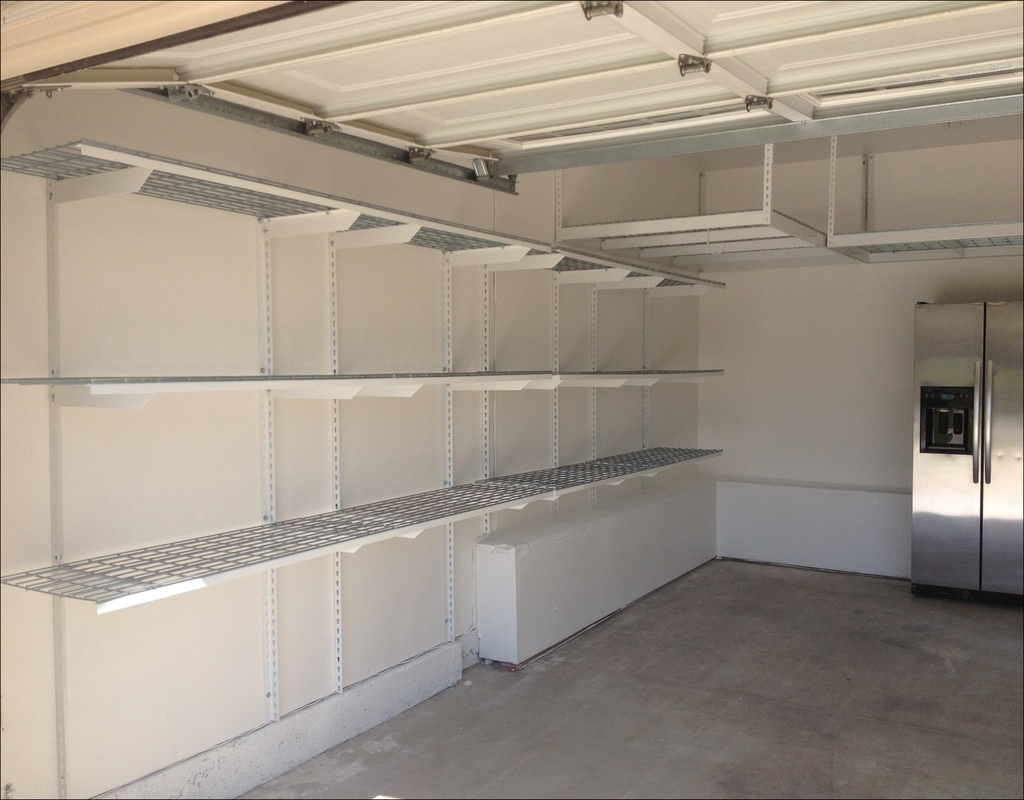 garage-wall-mounted-shelving Garage Wall Mounted Shelving