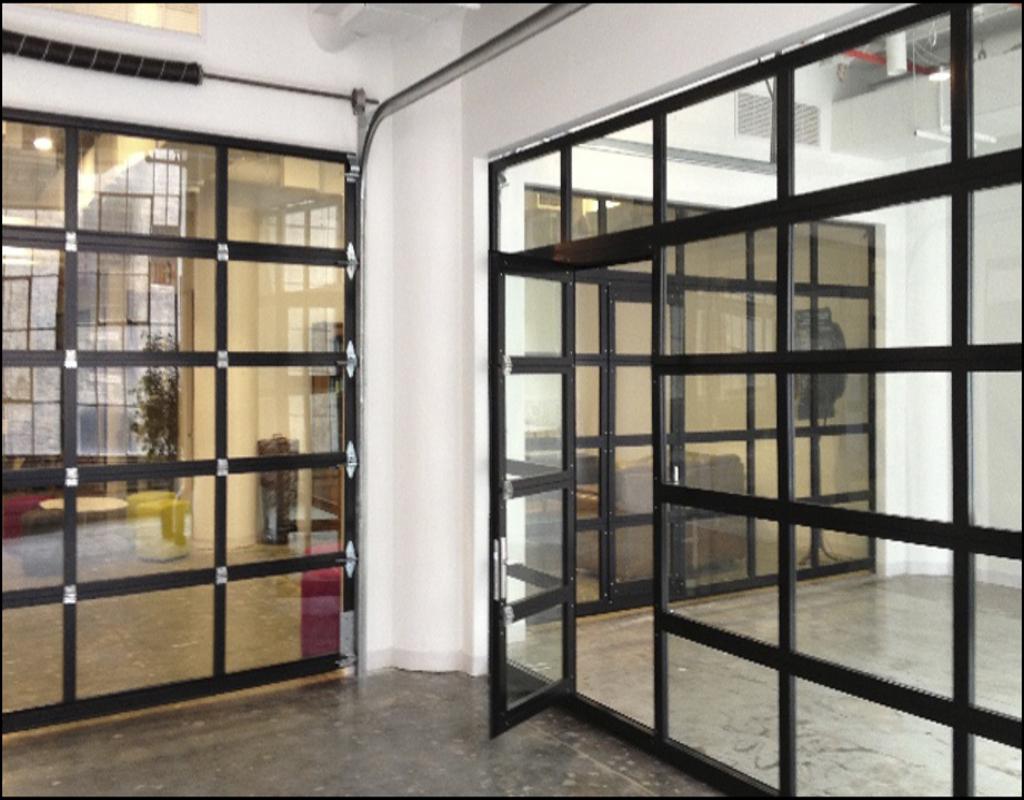 Glass Garage Doors Cost Swopes Garage
