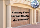 How To Keep Garage Cool