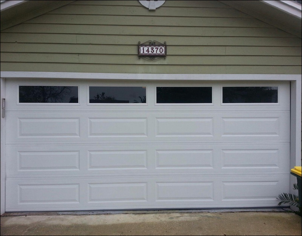 long-panel-garage-door Long Panel Garage Door