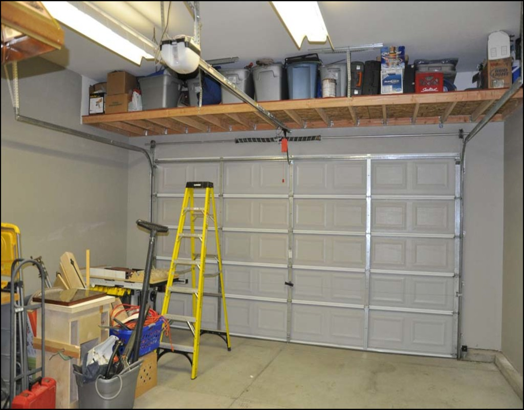 over-garage-door-storage Over Garage Door Storage