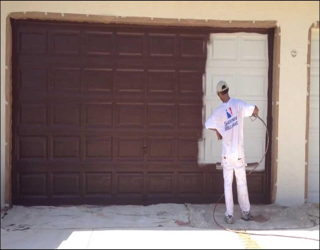 painting-a-garage-door Painting A Garage Door