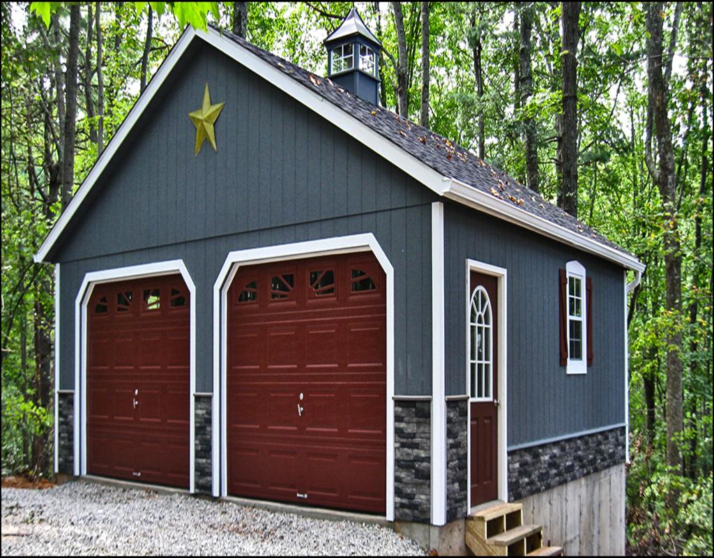 prefab-2-car-garage Prefab 2 Car Garage