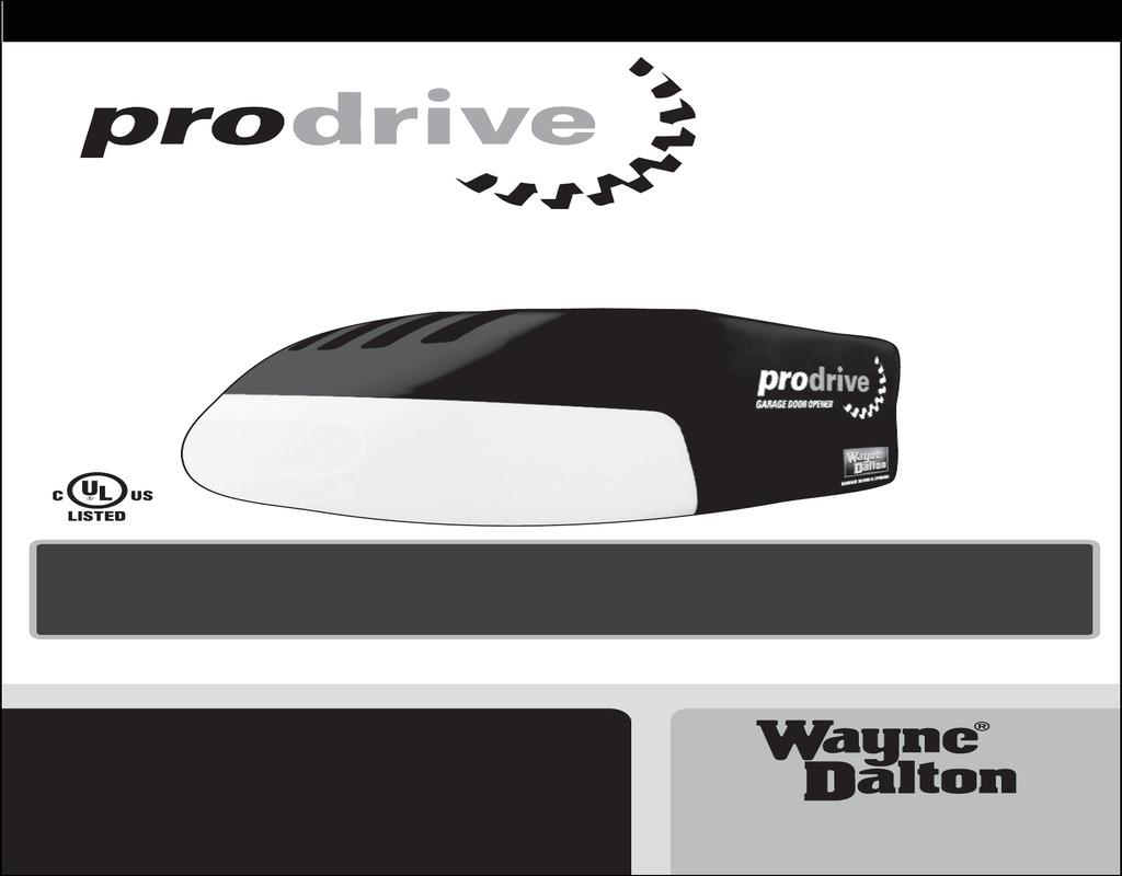 prodrive-garage-door-opener Prodrive Garage Door Opener