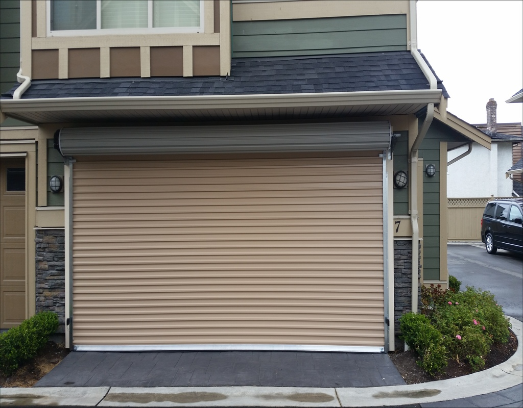 automatic rollup door affordable roll doors garage up
