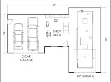 Garage Shop Floor Plans