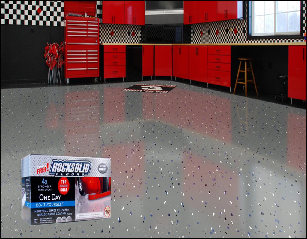 Rocksolid Garage Floor Coating