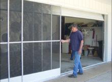 Sliding Garage Screen Doors