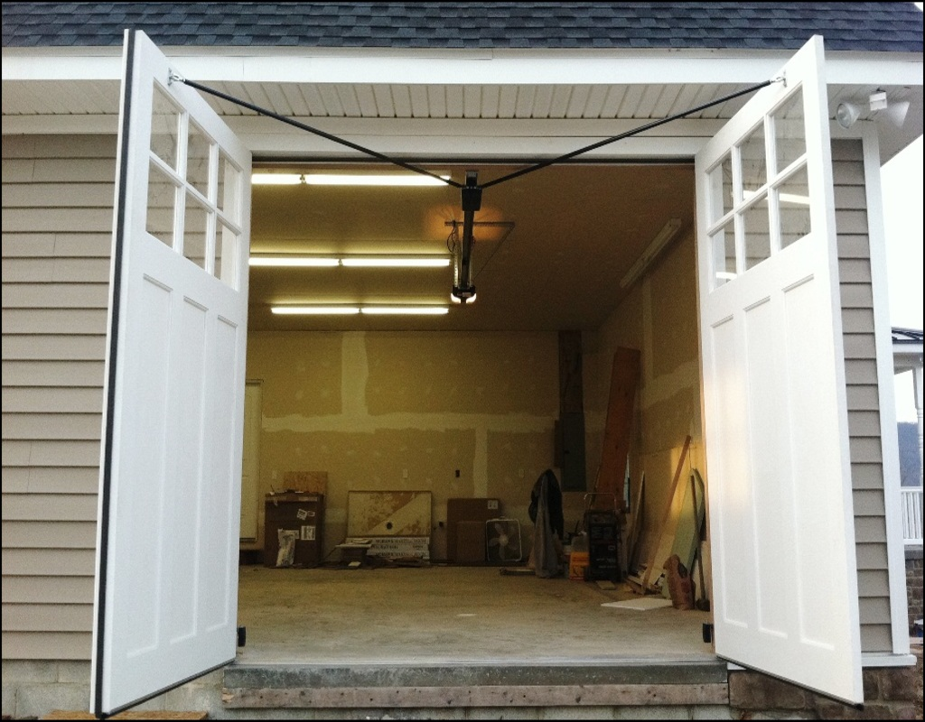 Swing Open Garage Doors