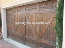 Wood Garage Door Panels