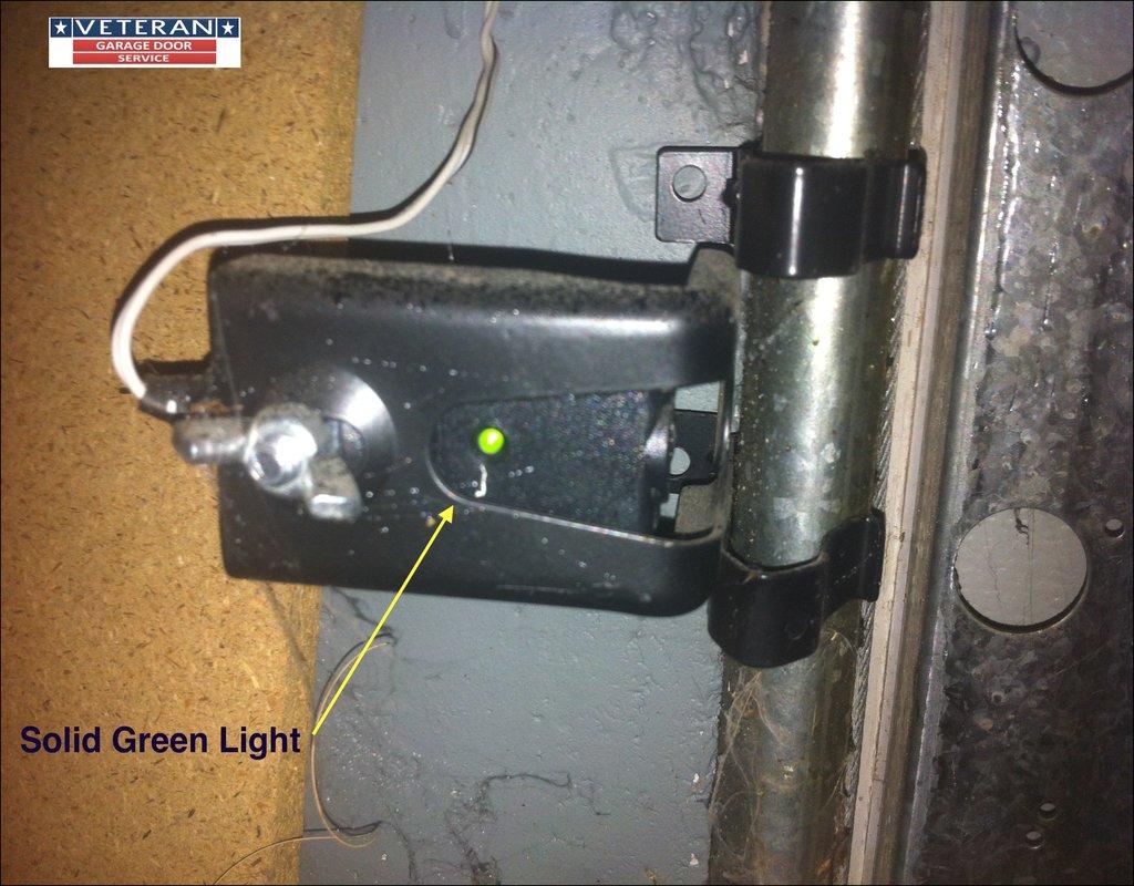 Garage Door Sensor Lights