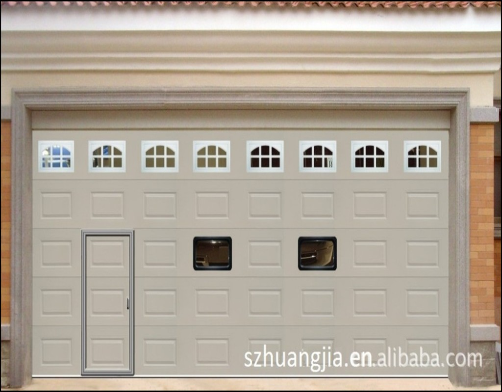 Garage Door With Entry Door