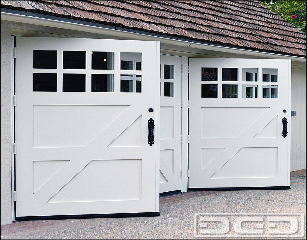 Garage Doors With Man Door