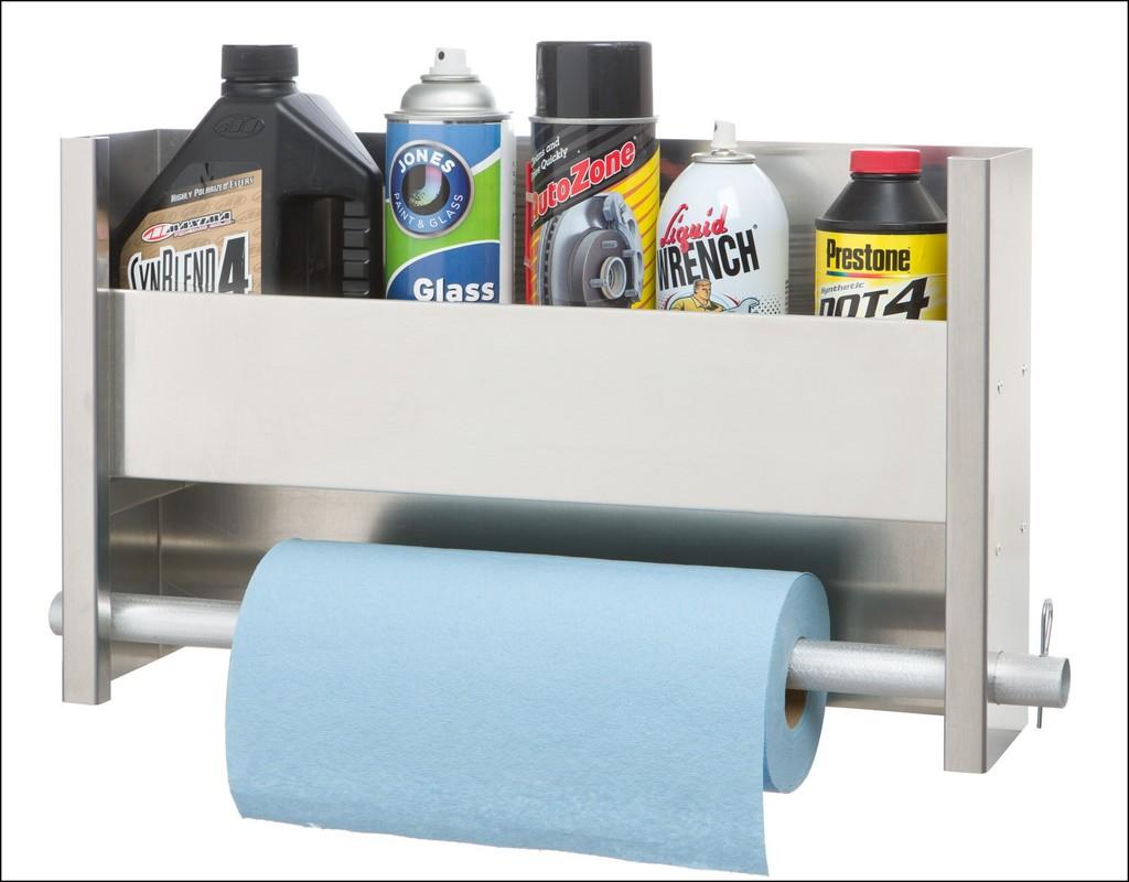 Garage Paper Towel Holder