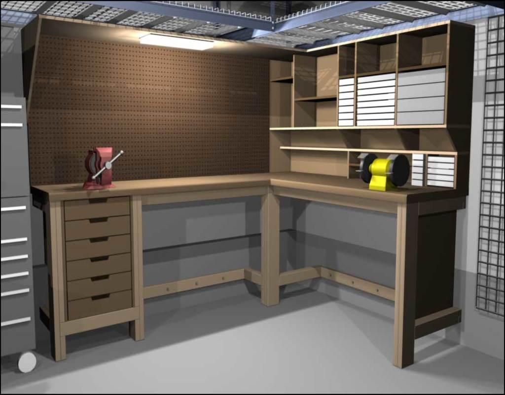 garage-work-bench-ideas Garage Work Bench Ideas