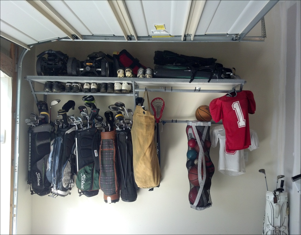 Golf Organizer For Garage