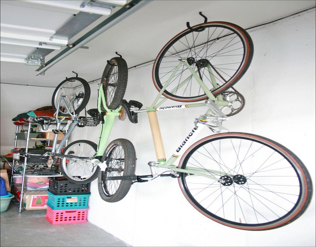 Hang Bike In Garage