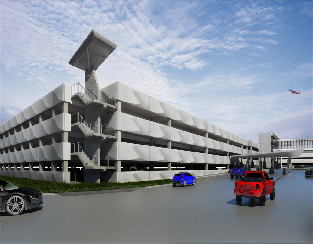 Hobby Airport Parking Garage