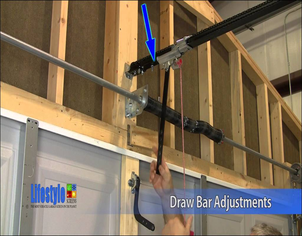 How To Adjust A Garage Door