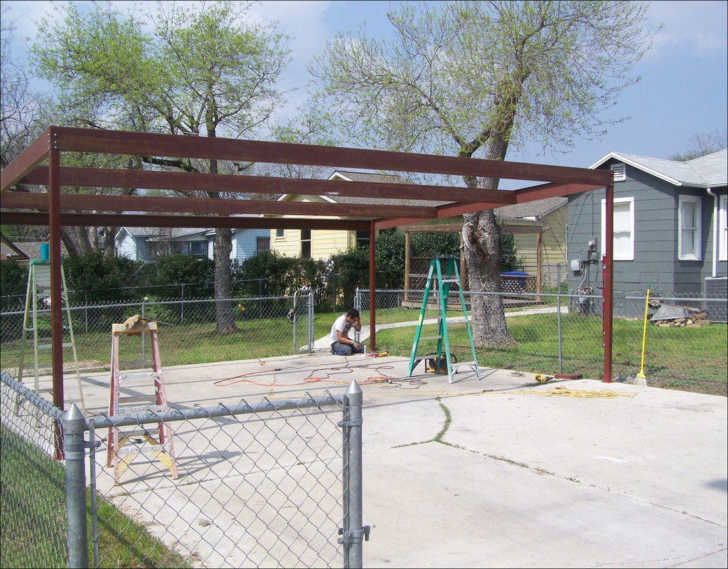 how-to-build-a-metal-carport How To Build A Metal Carport