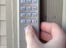 Liftmaster Garage Door Opener Keypad