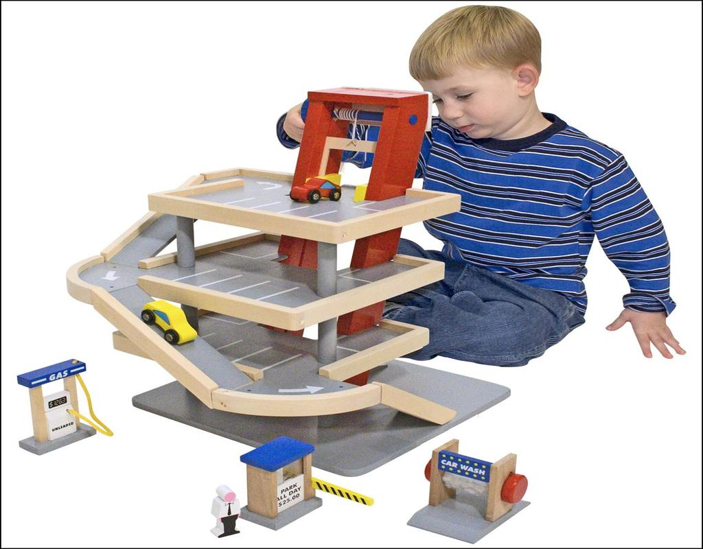 Melissa And Doug Garage