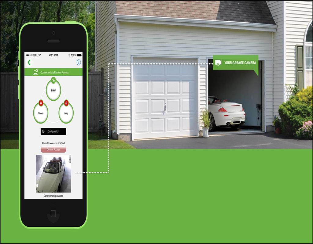 Open Garage Door With Phone