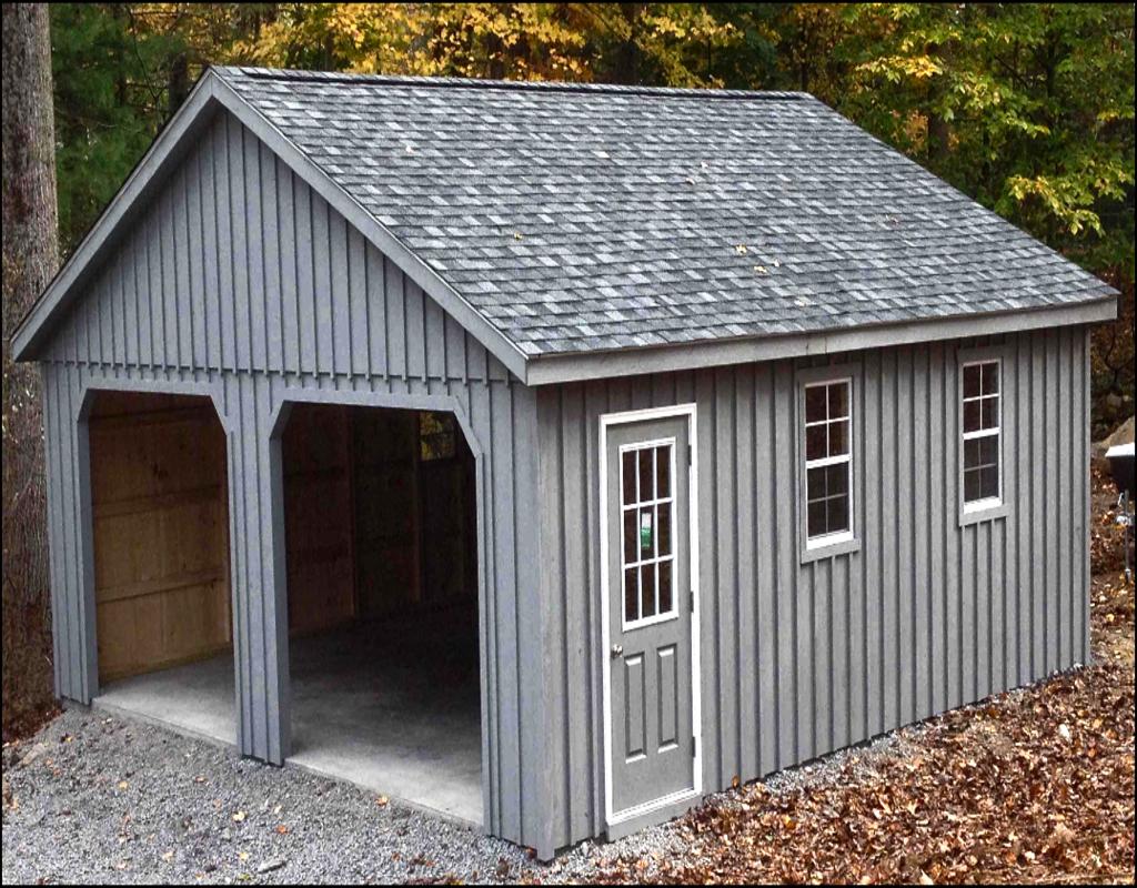 Prefab Wood Garage Kits