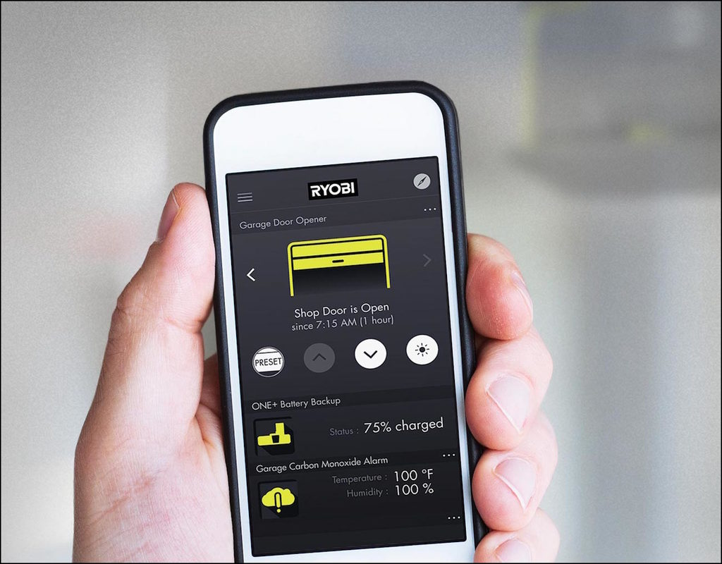 Remote Garage Door Opener App
