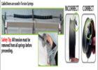 Replace Garage Door Cable