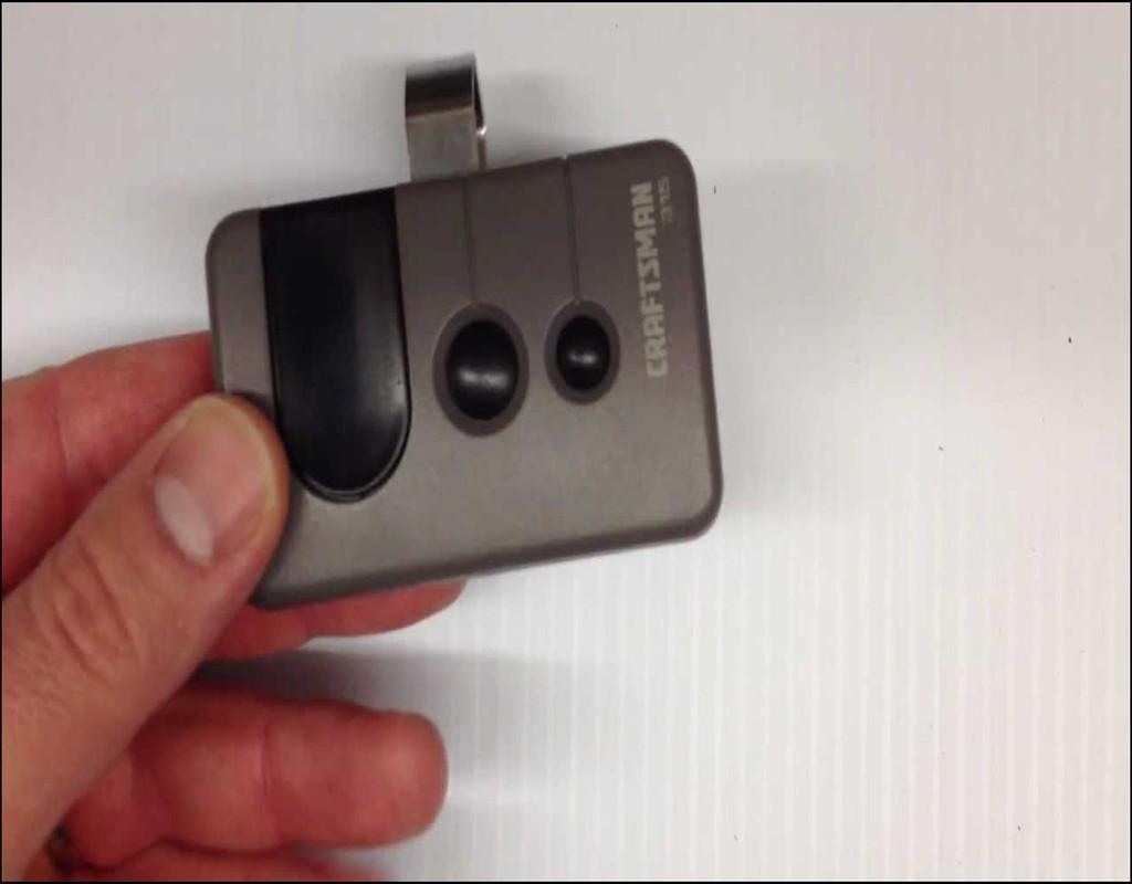 Replace Garage Door Opener Remote