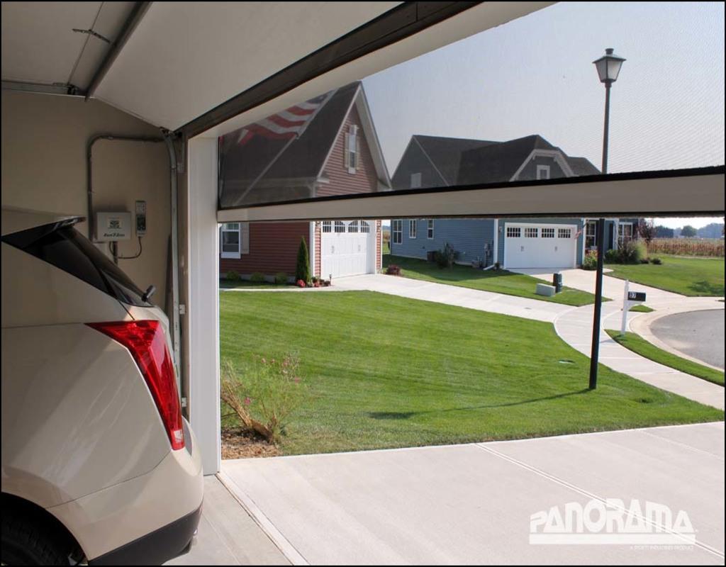 Roll Up Garage Door Screen