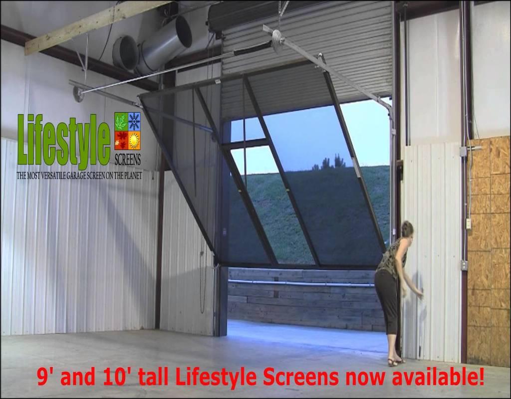 Screens For Garage Doors