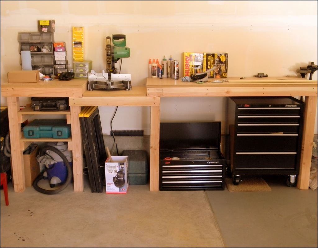 Workbench Ideas For Garage
